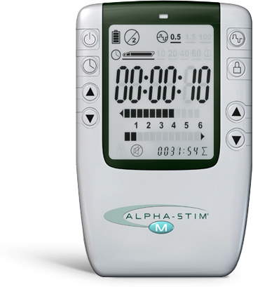 Alpha-stim apparatuur